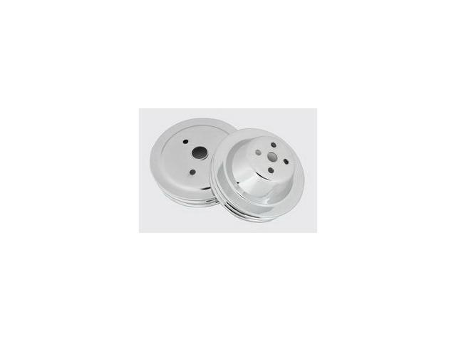 Mr. Gasket Chrome Plated Pulley Set