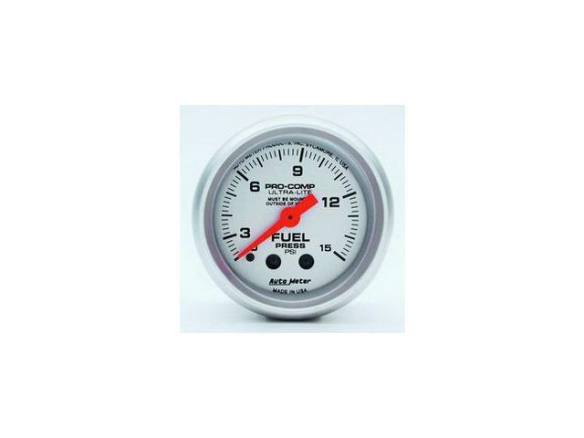 Auto Meter Ultra-Lite Mechanical Fuel Pressure Gauge