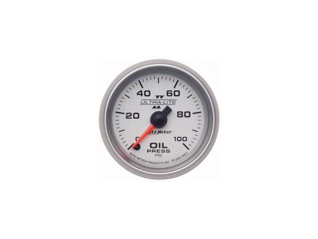 Auto Meter Ultra-Lite II Electric Oil Pressure Gauge