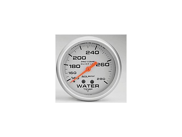 Auto Meter 4631 Ultra-Lite LFGs Water Temperature Gauge