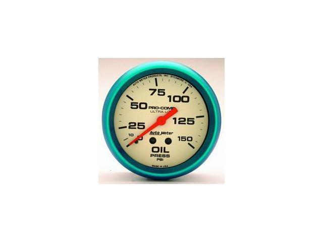 Auto Meter 4523 Ultra-Nite Oil Pressure Gauge