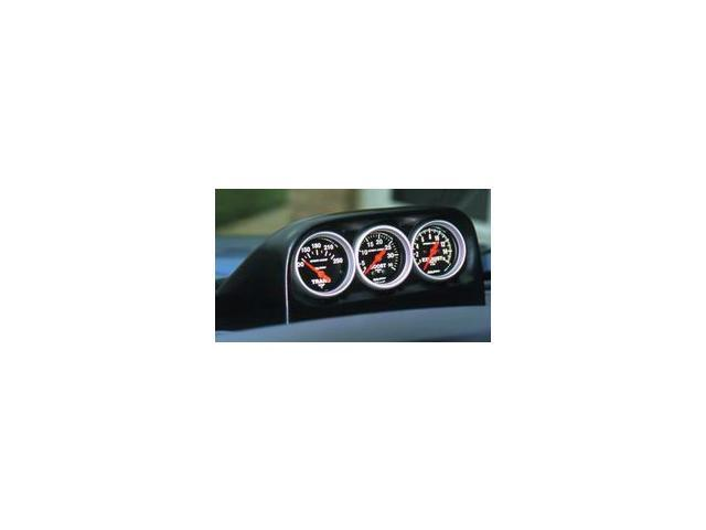 Auto Meter 15002 Gauge Works Triple Dash Pod