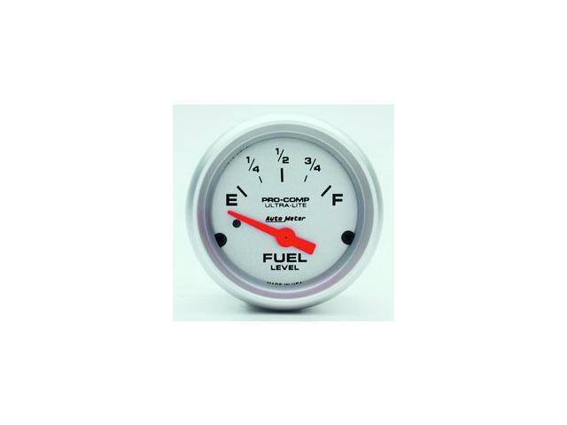 Auto Meter Ultra-Lite Electric Fuel Level Gauge