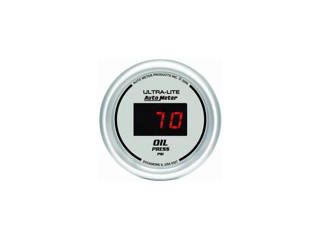 Auto Meter 6527 Ultra-Lite Digital Oil Pressure Gauge