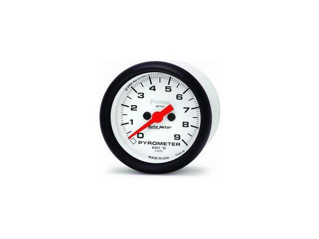 Auto Meter 5744-M Phantom Electric Pyrometer Gauge Kit