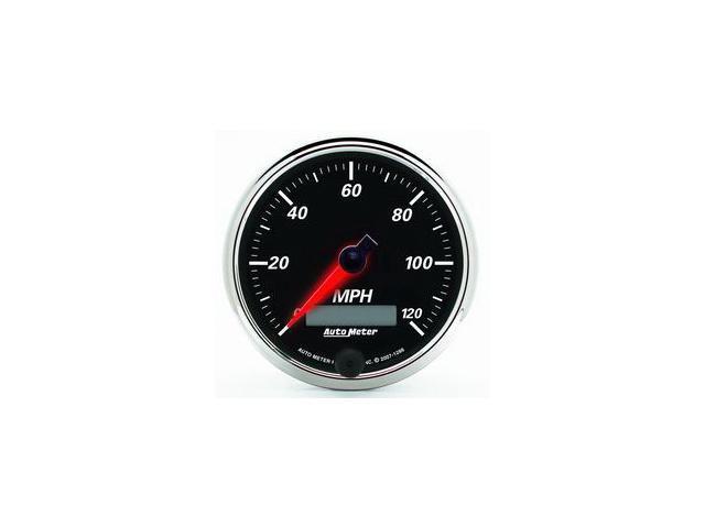 Auto Meter 1286 Designer Black II Electric Programmable Speedometer