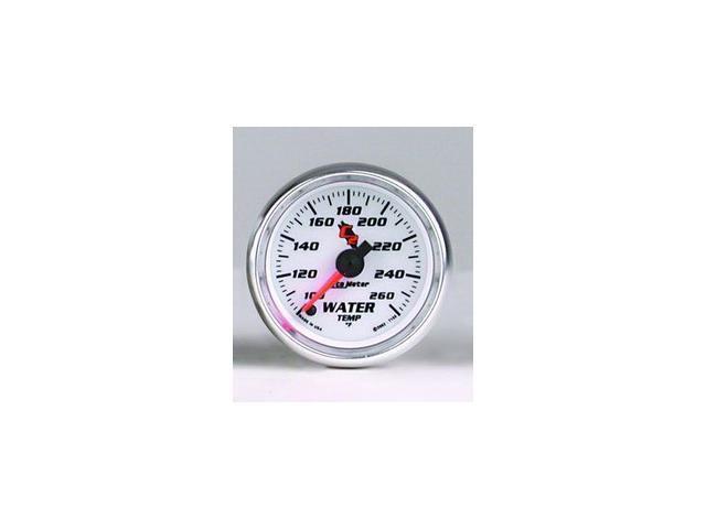 Auto Meter C2 Electric Water Temperature Gauge
