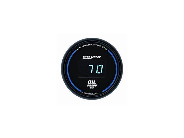 Auto Meter Cobalt Digital Oil Pressure Gauge