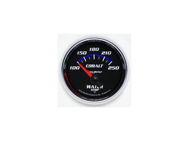 Auto Meter Cobalt Electric Water Temperature Gauge