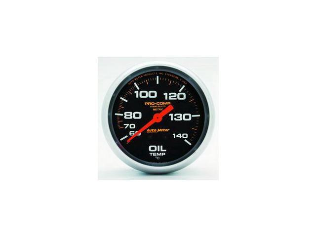 Auto Meter Pro-Comp Liquid-Filled Mechanical Oil Temperature Gauge