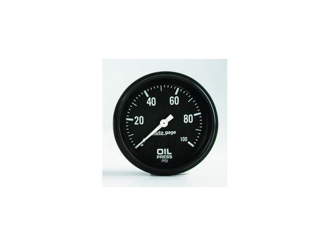 Auto Meter Autogage Oil Pressure Gauge