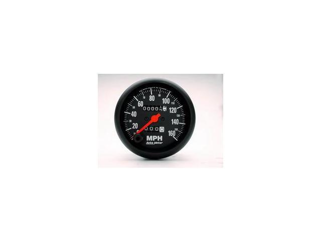 Auto Meter Z-Series In-Dash Mechanical Speedometer