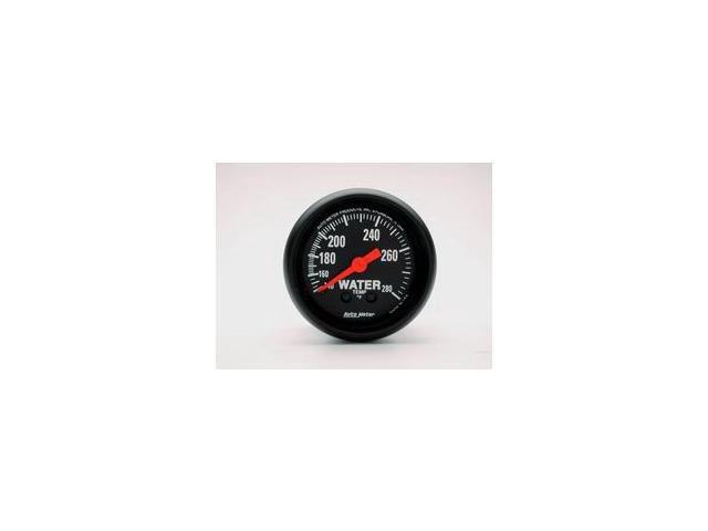 Auto Meter Z-Series Mechanical Water Temperature Gauge