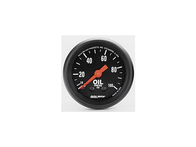 Auto Meter Z-Series Mechanical Oil Pressure Gauge