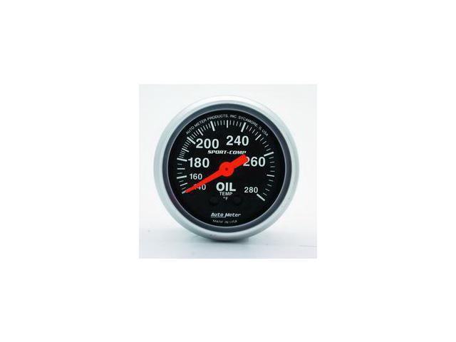 Auto Meter Sport-Comp Mechanical Oil Temperature Gauge