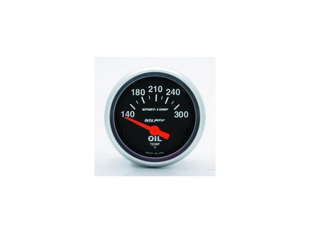 Auto Meter Sport-Comp Electric Oil Temperature Gauge