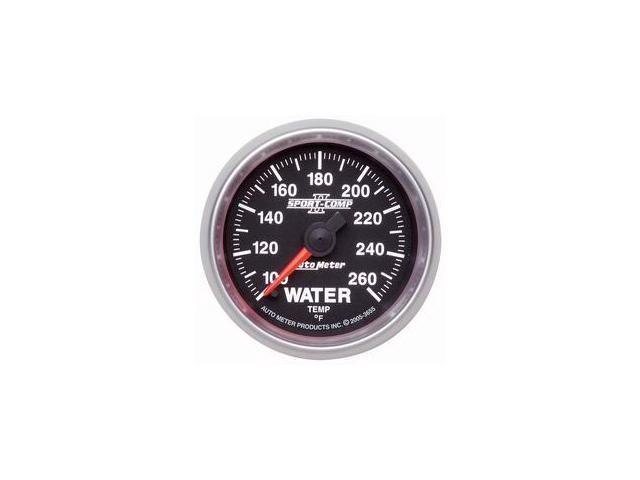 Auto Meter Sport-Comp II Electric Water Temperature Gauge