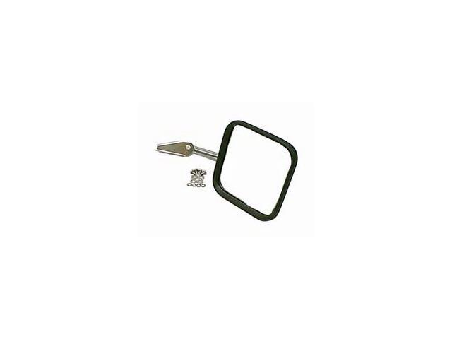 Rugged Ridge 110050.04 Mirror Head And Arm, Stainless Steel, Right Side, 55-86 Jeep CJ Models