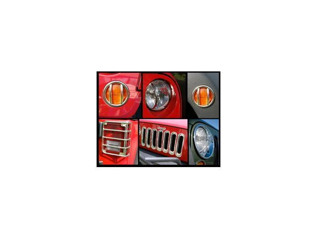 Rugged Ridge 12496.11 Euro Guard Kit Head/Side/Tail Light Guard