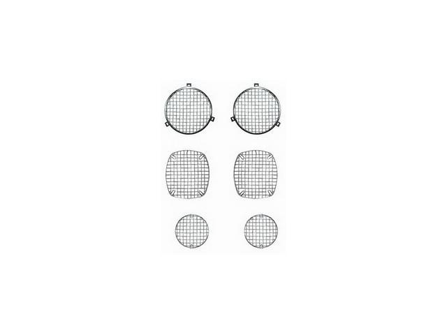 Rugged Ridge 11102.01 Stone Guard Set, Stainless Steel, 72-86 Jeep CJ