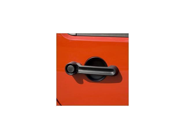 Rugged Ridge 13311.17 Door Handle Cover And Recess Guard Kit, Chrome, 07-14 Jeep Wrangler JK