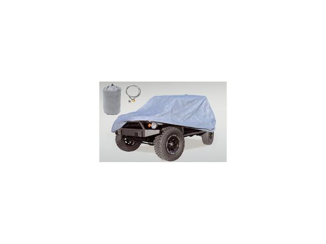 Rugged Ridge 13321.81 Car Cover Kit, 07-14 Jeep Wrangler JK