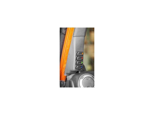 Rugged Ridge 17235.86 A Pillar Switch Pod Kit