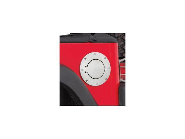 Smittybilt 75000 Billet Style Gas Cover 97-06 TJ Wrangler (LJ) Wrangler (TJ)