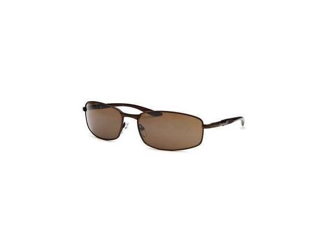 Timberland TB7112-48G Rectangle Sunglasses - Brown