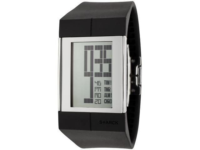 Philippe Starck Digital Men's Quartz Watch PH1112