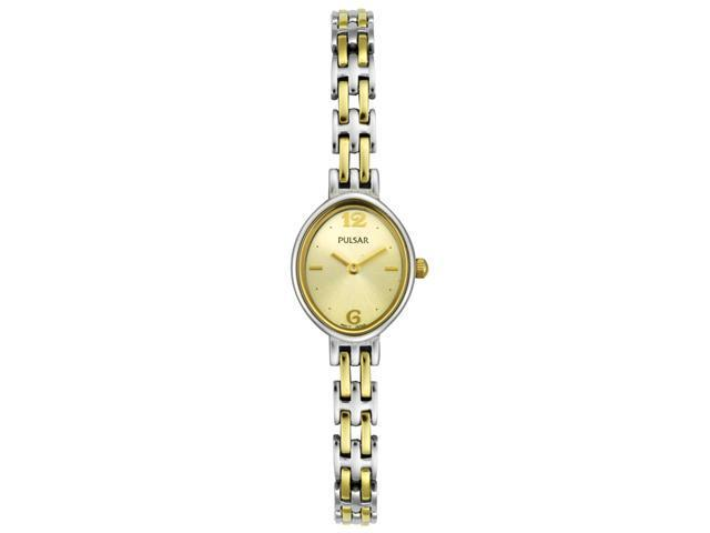 Pulsar Women's Champagne Dial Two Tone