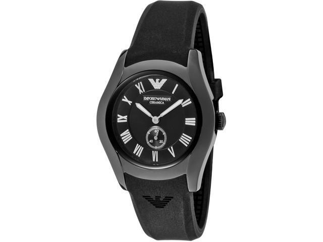 Emporio Armani AR1432 Women's Black Ceramic Chronograph Watch
