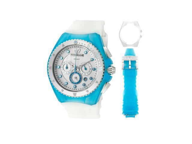 Technomarine Cruise Beach Chrono Turquoise And White Watch 109014