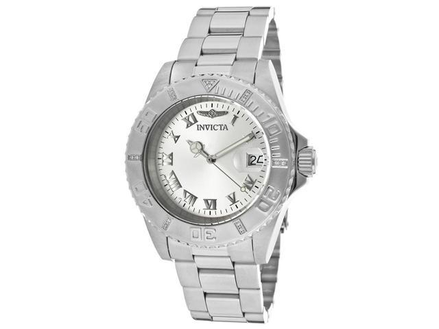 Invicta 12819 Women's Pro Diver Silver-Tone Ss Silver-Tone Dial Watch