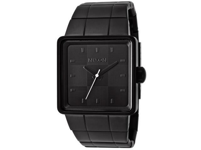 Nixon Quatro All Black Mens Watch A013-001-00