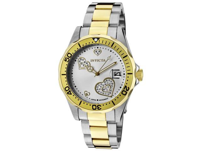Women's Pro Diver Two-Tone Stainless Steel Silver-Tone Dial