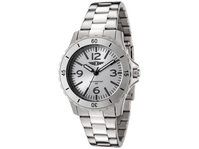 I By Invicta 89051-001 Women's Stainless Steel Silver-Tone Dial Luminous Hands Watch