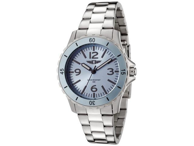 I By Invicta 89051-002 Women's Stainless Steel Light Blue Dial And Bezel Watch