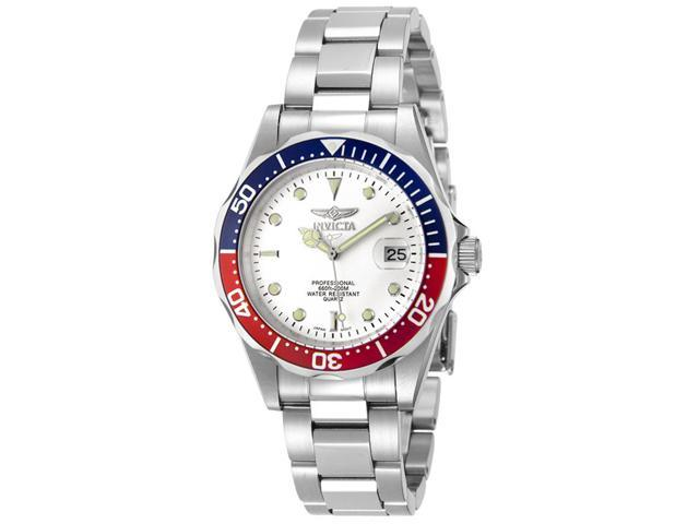 Invicta Men's Pro Diver White Dial Stainless Steel