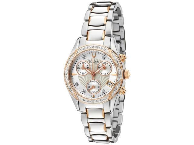 Bulova 98R149 Diamonds Women's Quartz Watch