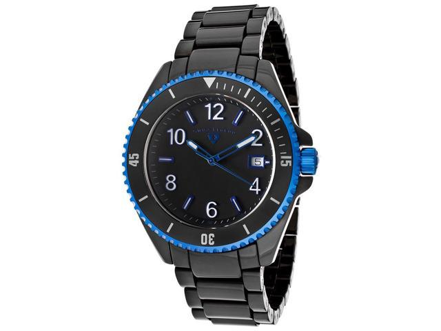Luminar Black High-Tech Ceramic and Dial Blue Accents