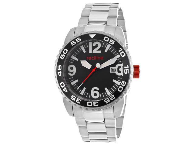 Red Line 60014 Ignition Auto Stainless Steel Black Dial Watch