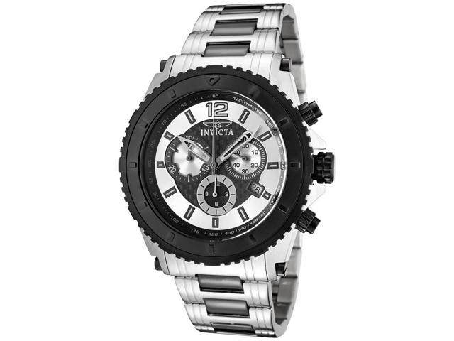 Men's Invicta II Chronograph Two Tone Stainless Steel Watch (1010)