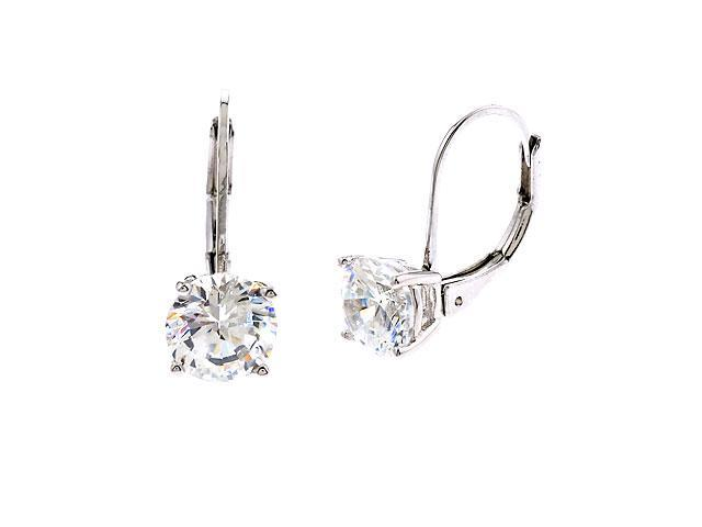 2Ct Tw Simulated Diamond Engagement Bridal (.925) S/S Earrings