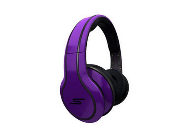 SMS Audio STREET by 50 Purple SMS-WD-PRP Wired Over-Ear Headphones, Limited Edition