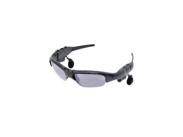 Patazon Bluetooth Sunglasses Stereo Headset Handfree For Mobile Devices - Black