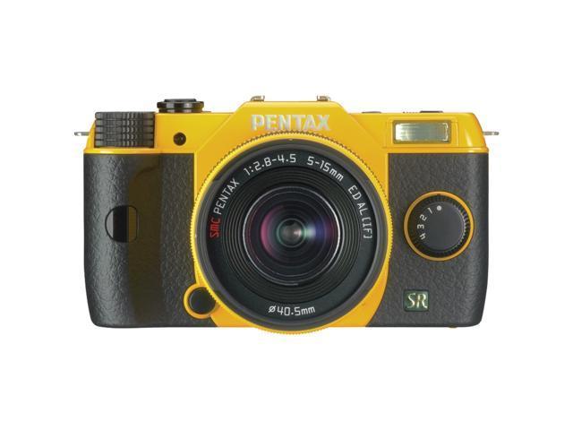 PENTAX Q7 (11554) Yellow Lens-interchangeable SL Digital-still Camera with 5-15mm f/2.8-4.5 Zoom Lens