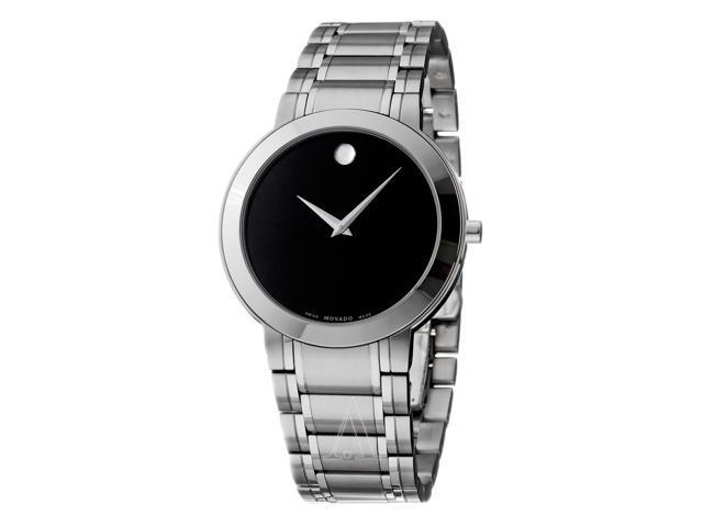 movado newegg com movado stiri 0606191 men s black dial stainless steel bracelet analog quartz watch