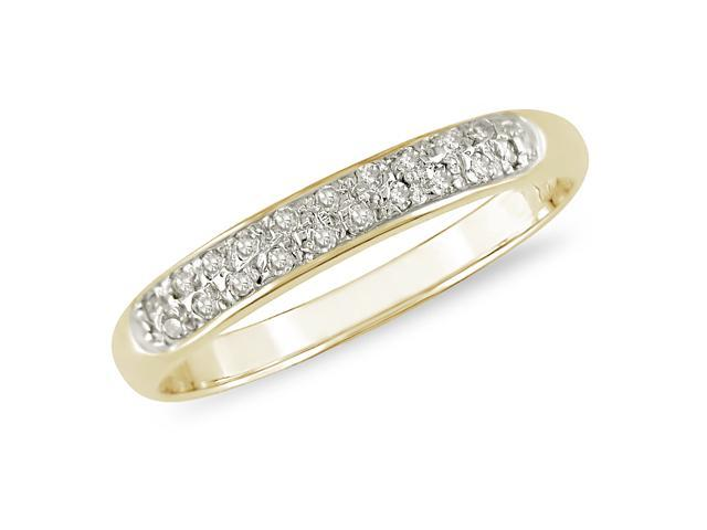 1/10 ct Fashion Diamond Ring in 10k Yellow Gold, I2-I3, G-H-I