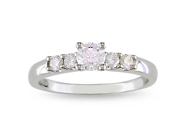 14k Gold 1/2ct TDW Diamond Engagement Ring